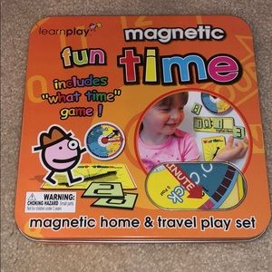 Magnetic Fun How to Tell the Time Set